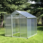 Low cost fixed poly tunnel seed greenhouse for vegetable