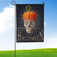 Halloween Garden Flag Indoor Outdoor Home Decor Letters Flowers Flag Home Kids Room Party Decor Best Gift Drop Shipping