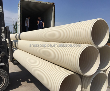 sn8 hdpe corrugated pipe 6 inch corrugated pipe double wall corrugated pipe