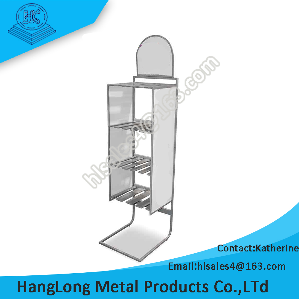 customized key chain tabletop hook display stand