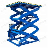 Warehouse used hydraulic lift platform electric cargo lift goods lift elevator