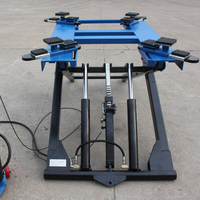 Portable mid rise scissor lift hydraulic lift vehicle lift 2.7T