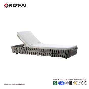 Outdoor Braiding Adjustable Lounger OZ-OR039