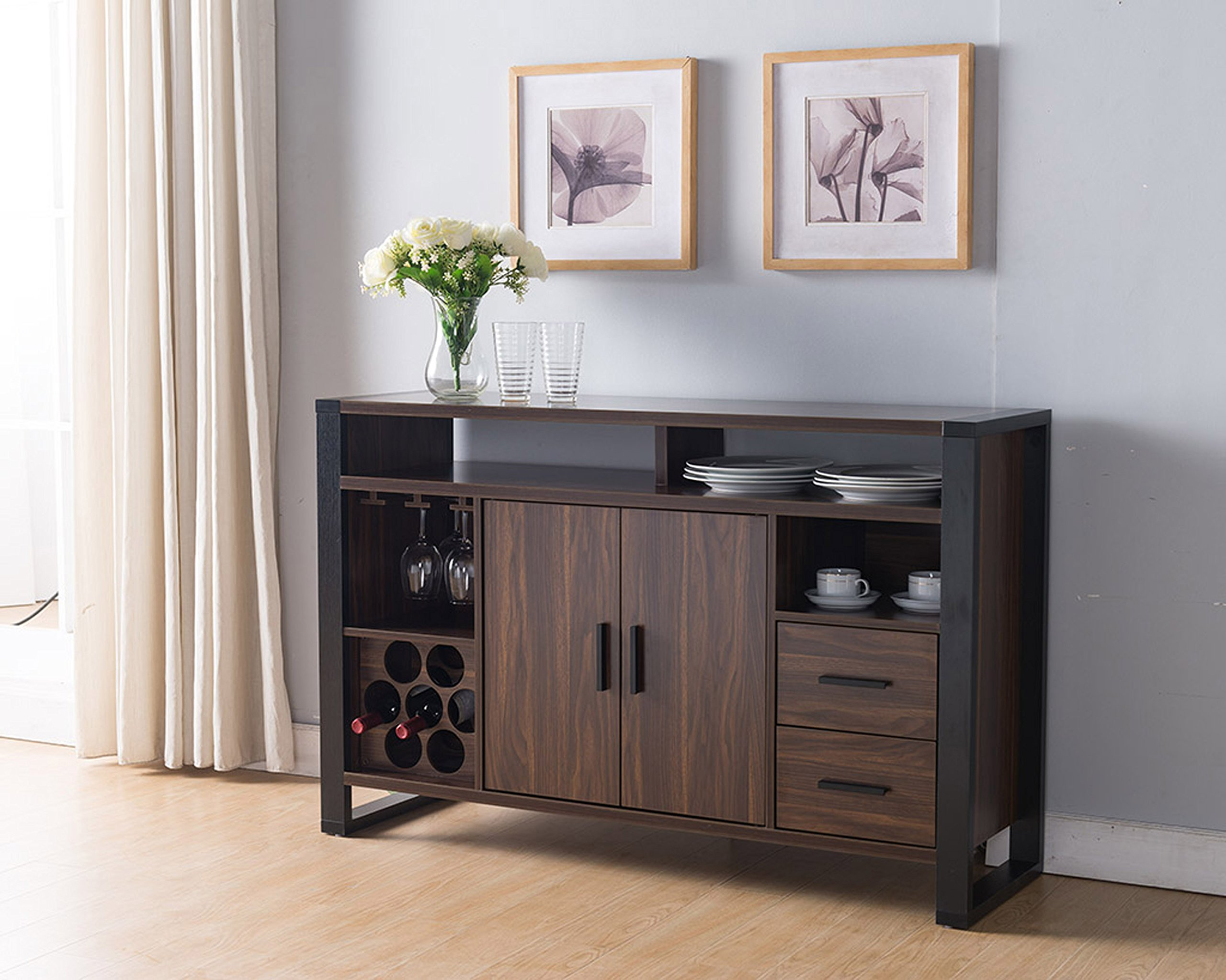 Astounding Cheap Walnut Buffet Sideboard Find Walnut Buffet Sideboard Download Free Architecture Designs Sospemadebymaigaardcom
