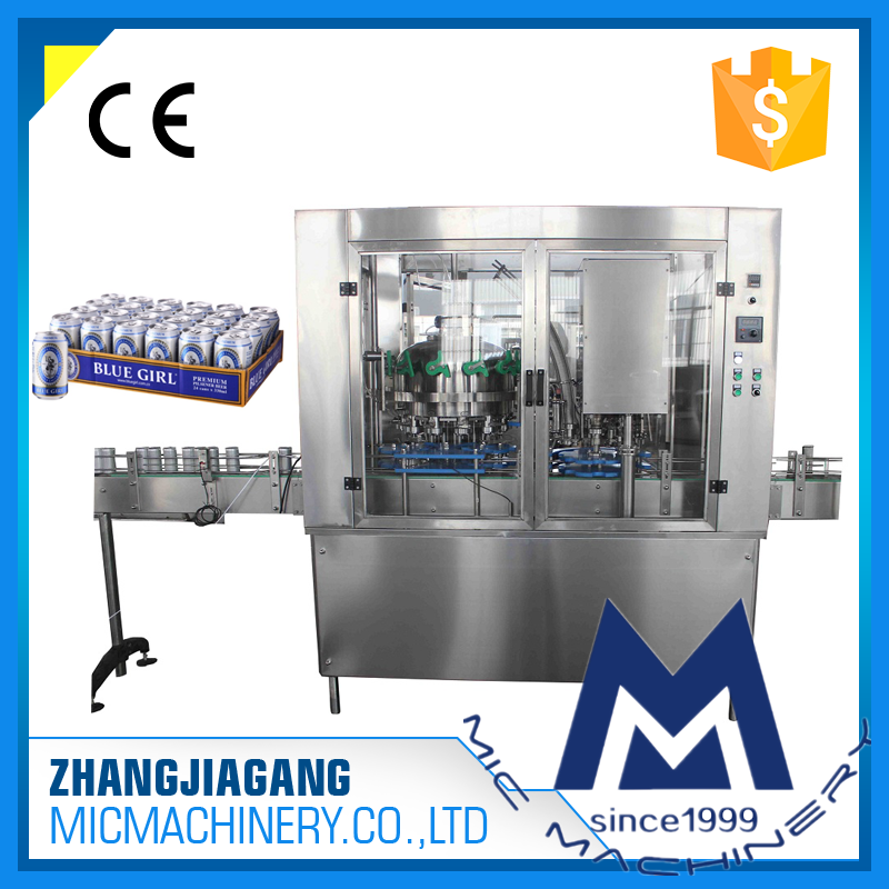 MIC 12-1 Speed 2500Can/Hour beer can seamer
