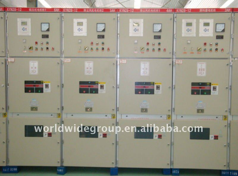 KYN28-12 drawout metal-clad HT switchgear