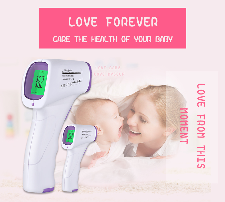 Custom Digital baby infrared thermometer Mode FI02