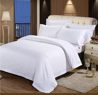 5 Star hotel cheap bed sheet sets satin jacquard bamboo lyocell bedding sheets