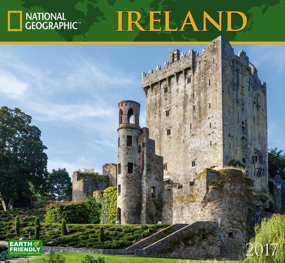 Ireland 2017 National Geographic Wall Calendar