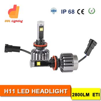 High Efficiency 30w H11 Led Car Headlight 9-36v Bus Headlamp ...