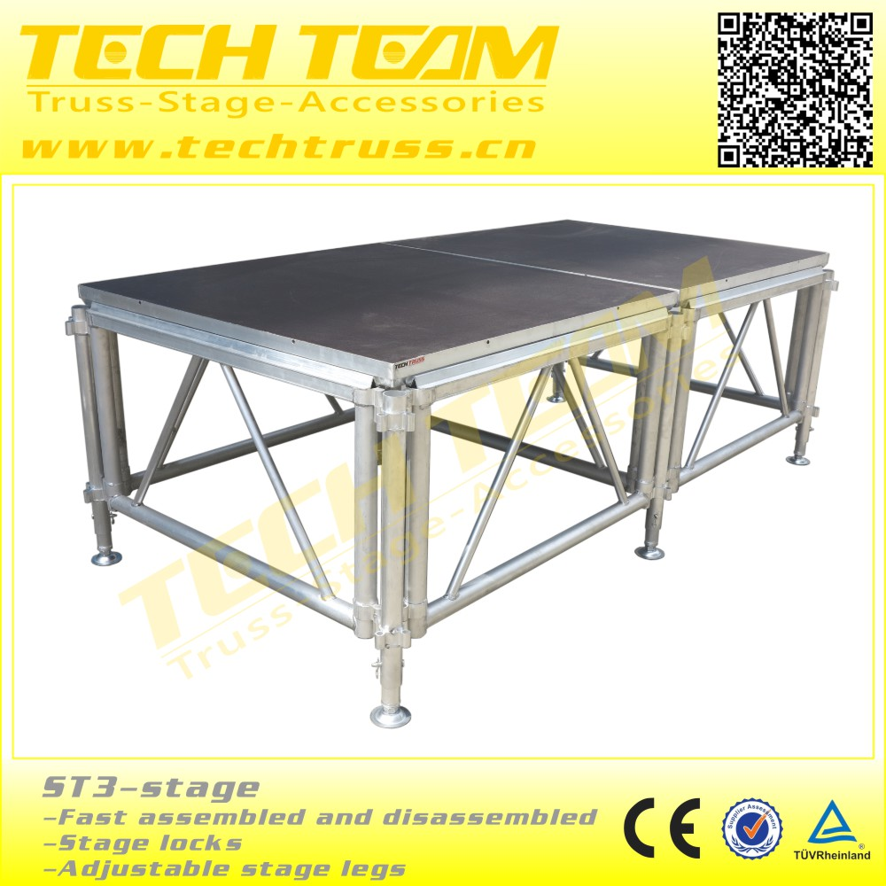 St1 stage portable outdoor stage platform for event buy for Cheap truss systems