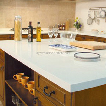 Solid Surface Acrylic Epoxy Resin Kitchen Countertop Artificial