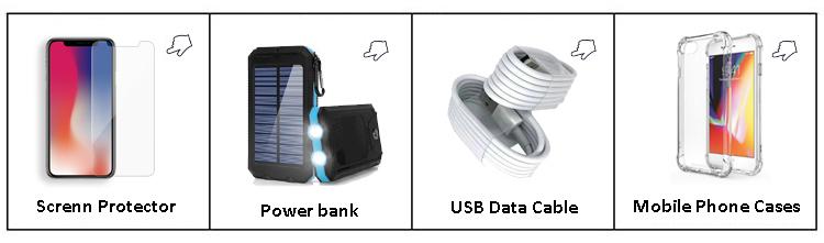 फैक्टरी थोक मोबाइल सौर अभियोक्ता सेल फोन मिनी पावर के लिए कैमरा ली बहुलक बैटरी पैक