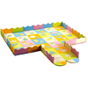 Eco-friendly educational interlocking EVA puzzle floor baby play mat for crawling