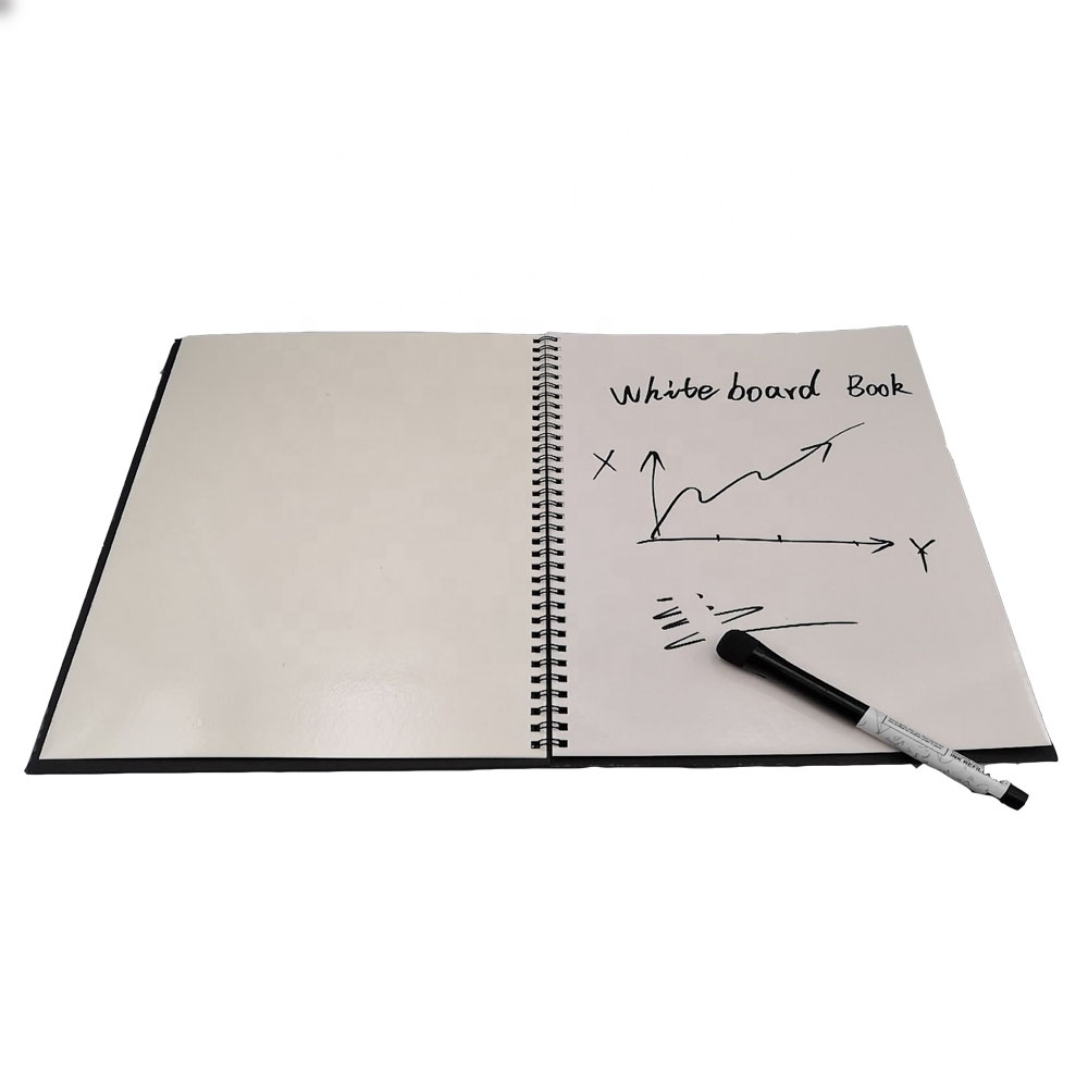 write and wipe whiteboard paper notebook for school&office