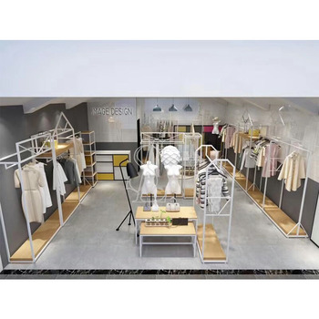 simple clothes store design redering image for clothing shop rh alibaba com
