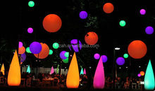 Party Decoration Inflatable Light Balloon Inflatable Cone Tube