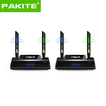 PAKITE 1080p 150m Professional 5G Wireless HDMI Transmitter and Receiver Audio Video Mixer Record Player [ PAT-590 ]