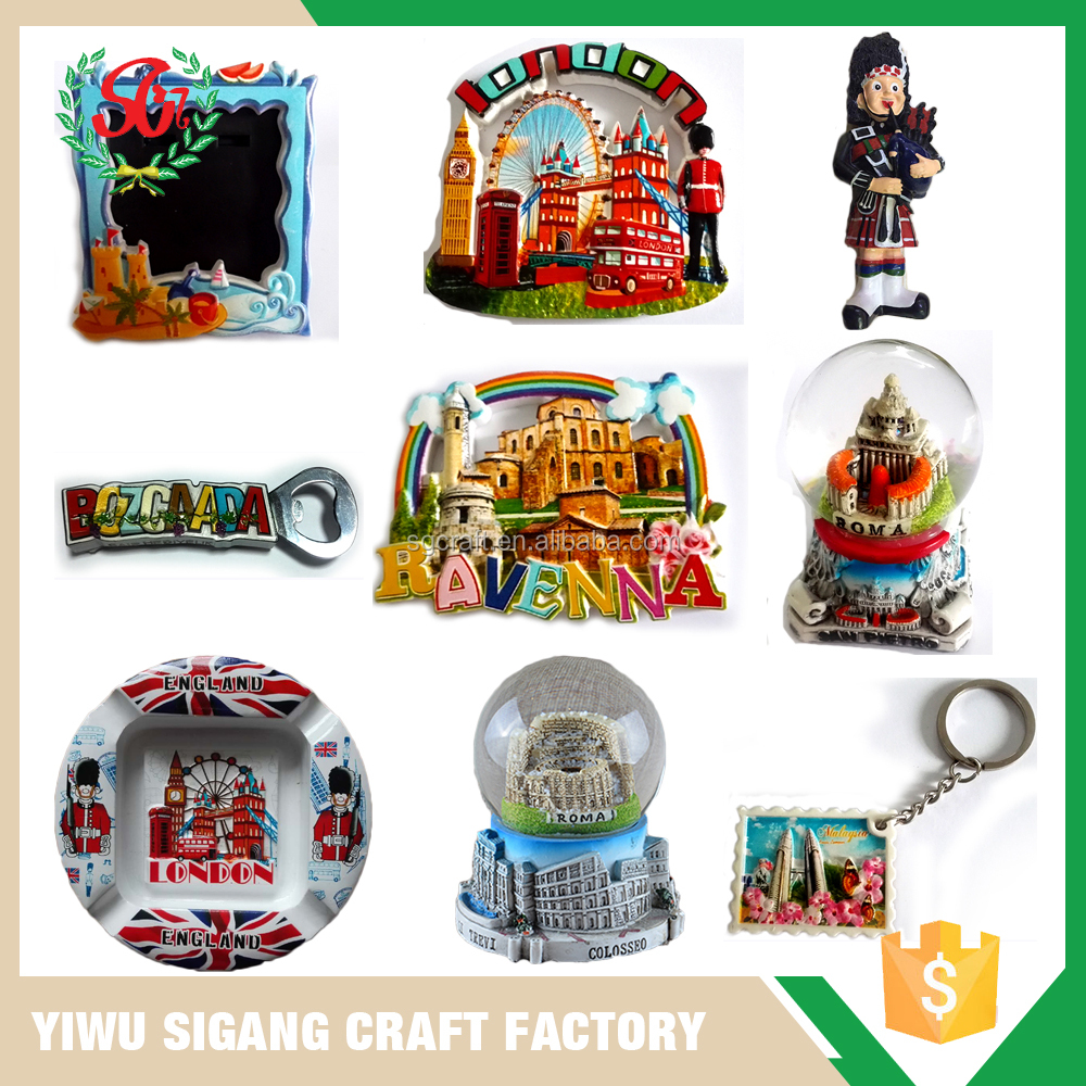 Custom Wholesale Manufacturer Quality Resin Souvenir Craft