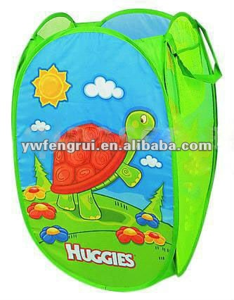 Folding Polyester Wicker Animal Green Forest Tortoise Color ...