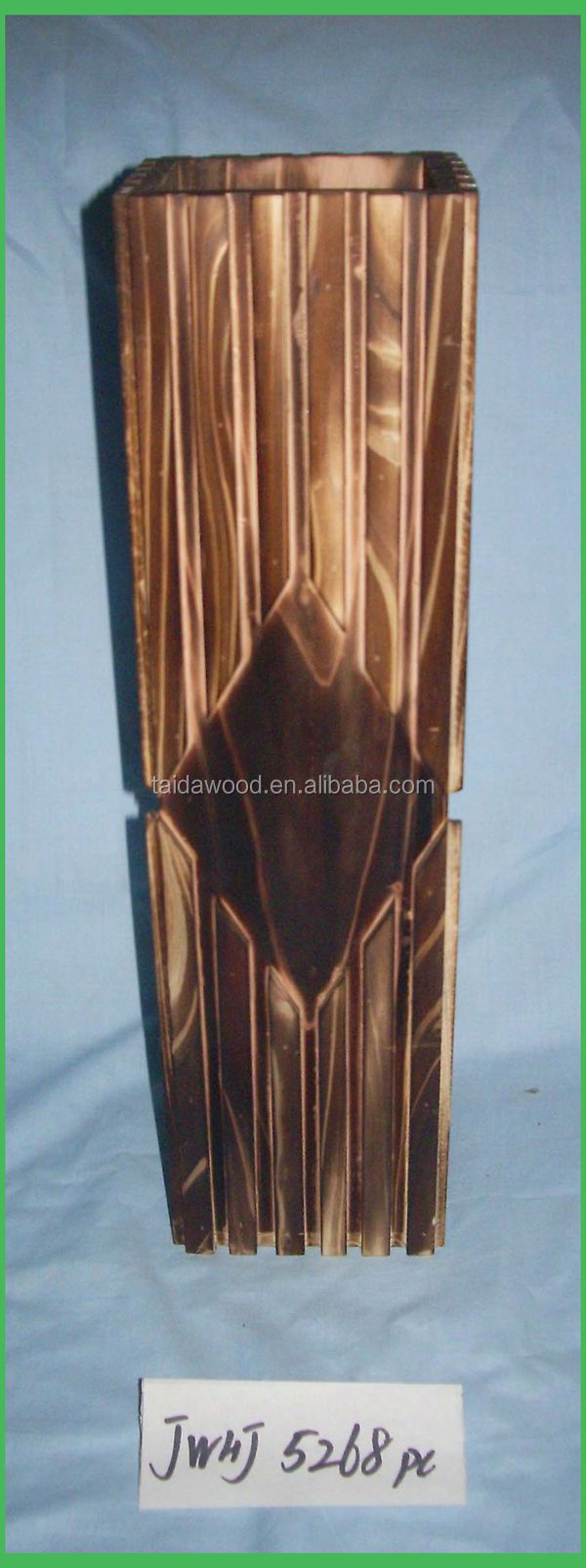 Best selling handmade natural wood vase buy hand carved