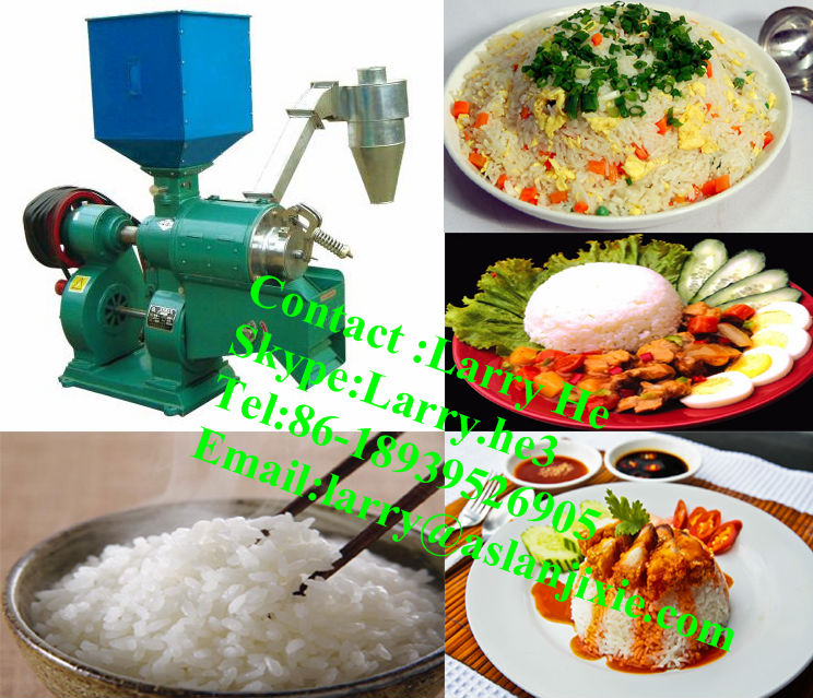 rice polisher/rice sheller machine/rice mill machine