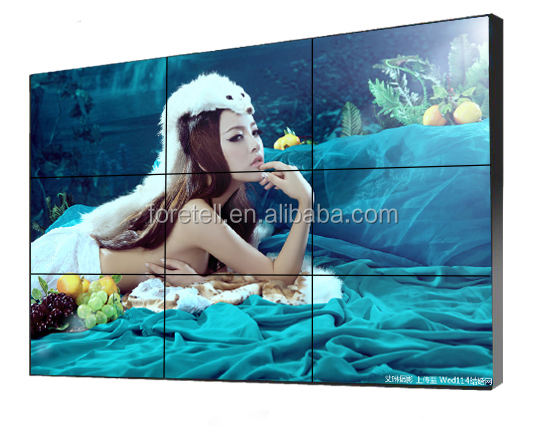 55 inch lcd video wall,multi tv screen display