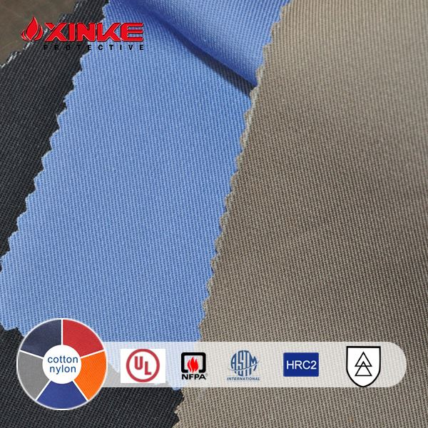 7 oz cotton nylon Flame retardant fabric with NFPA 2112 for fire fighters