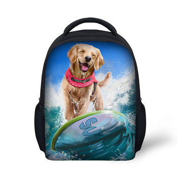 0eaf87ab7238 Quanzhou Supplier Kids School Bag Dog Images Nursery School Backpack  Advertisement Print Logo