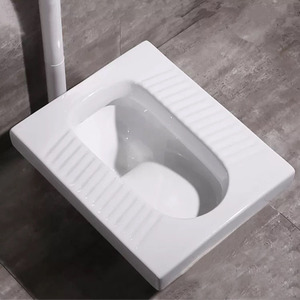 Wholesale durable ceramic squatting pan toilet in usa