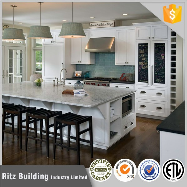 Appartment Project Kitchen Cabinet Crown Molding Style