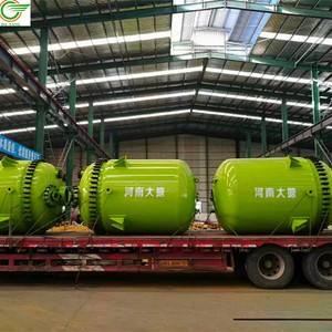 50m3 10000 litre steam jacketed enamel reactor autoclave polymerization polyurethane double walled reaction kettle equipment