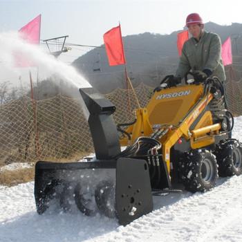 Mini Skid Steer Snow Blower Like Kanga Bobcat For Eu - Buy Skid Steer Snow  Blower,Mini Snow Blower,Bobcat Skid Steer Snow Blower Product on