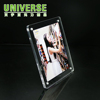 UNIVERSE custom 2x2 photo picture a4 portrait double sided cube edge-lit acrylic signs signage acrylic frame box
