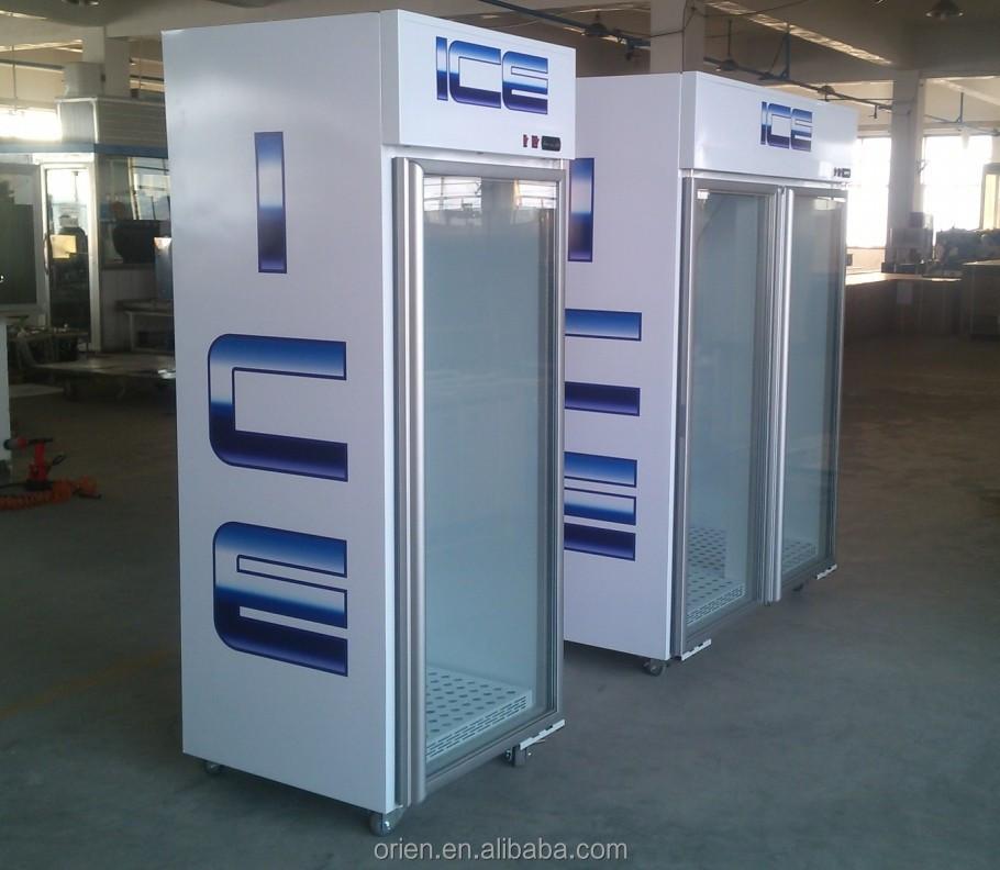 Indoor Ice Merchandiser Bagged Ice Freezer Buy Ice