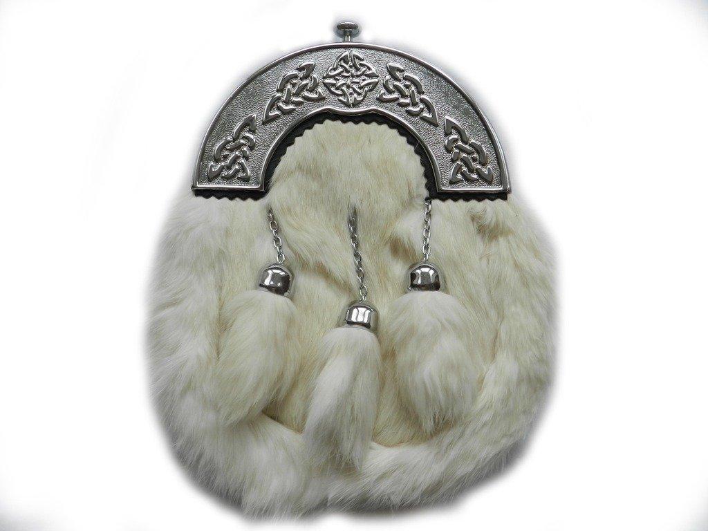 UT Kilts Formal Scottish Kilt Fur Sporran - Several Colors Available
