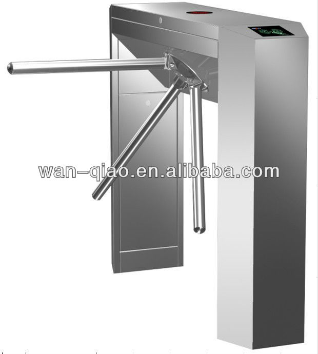 Bridge Security Tripod Turnstile with Access Control System and LED Direction Indicator for Residential Community,Bus Station