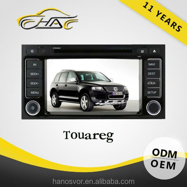 7 INCH special for vw touareg dvd player touch screen 2din with car radio FM AM