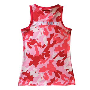 25c135d4c99cc Custom Gym Vest Sublimated Running Singlets tank top men