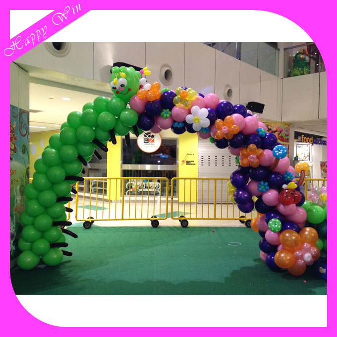 Low cost promotion diy inflatable wedding balloon arches Latex Wedding Balloon Arches