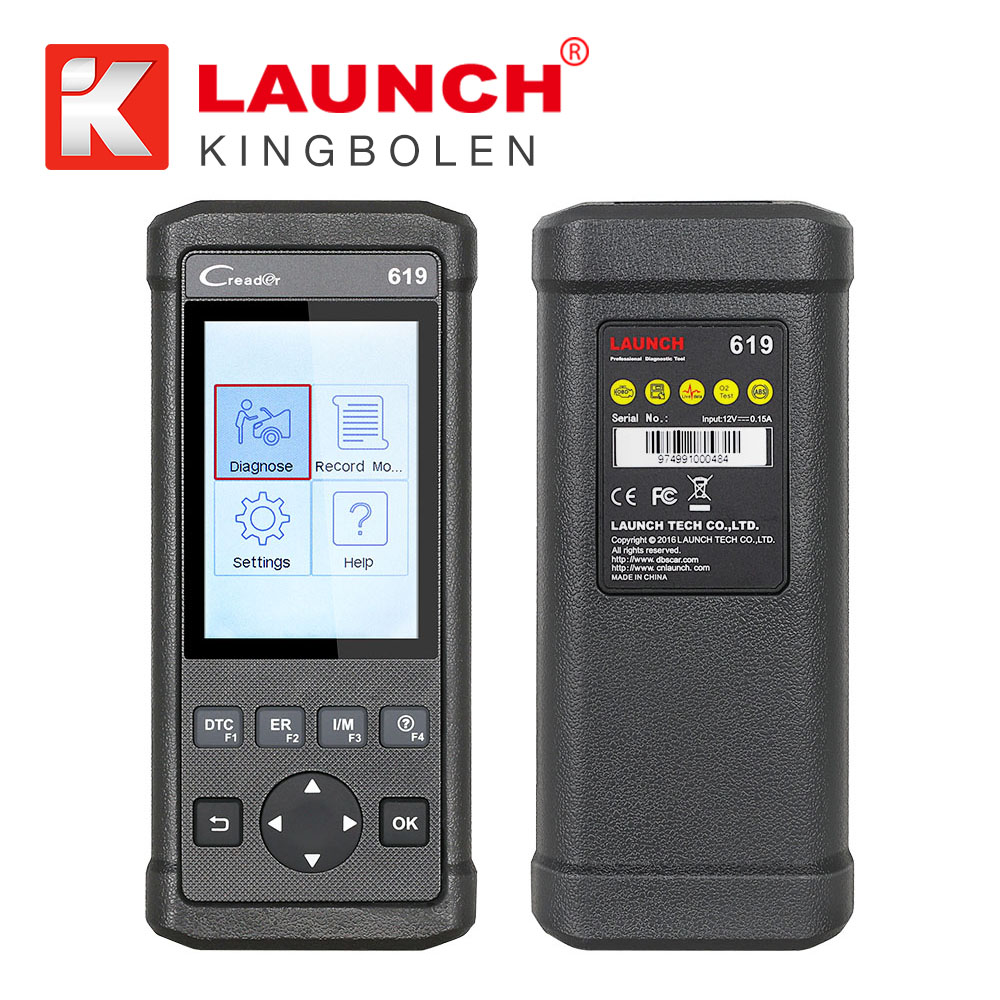 obd2 auto scanner car scan tool code reader trouble Launch CReader 619