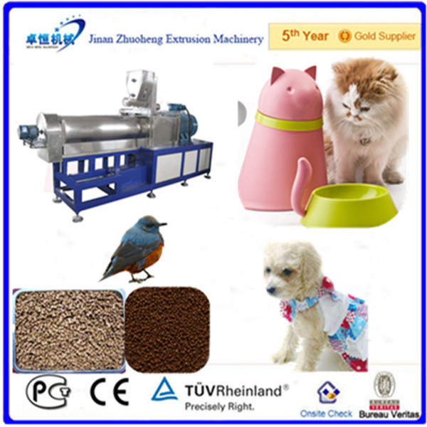 Automatic pet & animal kibble dog feed pellet food processing equipment