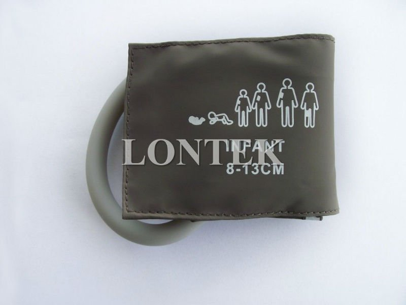 Infant reusable blood pressure cuff with single-tube,M1571A,Lim cir=8`13cm