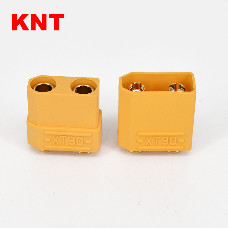 New Male Female XT90 PB gold electrical plug connectors For Cars/Drone