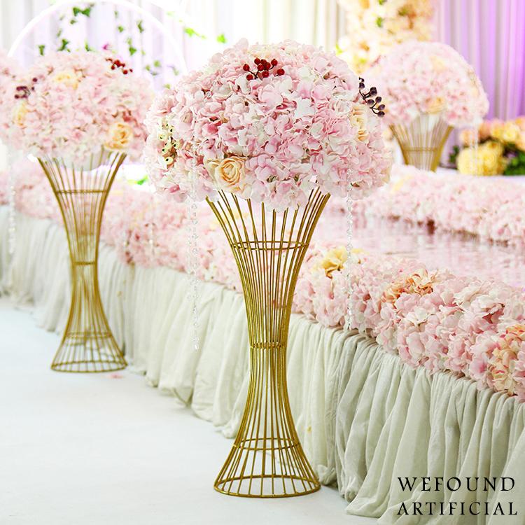 Soporte de flor de la boda flores artificiales flor - Plantas artificiales baratas ...