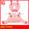 Soft animal neck rest pillow neck massage cushion for office