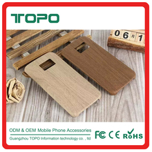 for samsung s6 edge case Classical High Quality Ultra Thin wooden grain skin cover TPU Phone Case for samsung s6 s6 edge