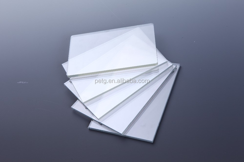 Customized brand new raw material transparent pet sheet or roll for offset printing and vaccum forming
