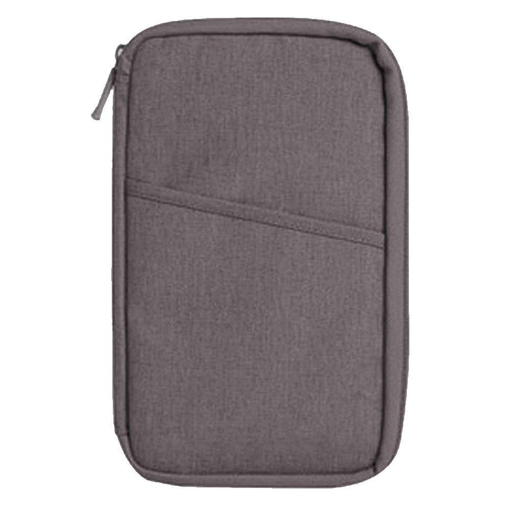 fd6e218670e Get Quotations · Loriver Travel Wallet Organizer Passport Credit Card  Holder Cash Purse Case Bag Handbag