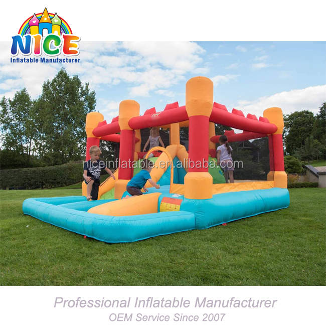 2018 Nice adult inflatable bouncy castle for sale